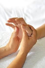 Hand relfexology